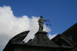 Dublin Castle Justitia